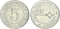 5 Verrechnungspfennige (1924) Nebengebiete...
