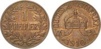 1 Heller 1910J Kolonien Deutsch-Ostafrika ...