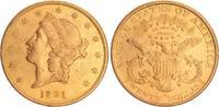 20 Dollar Gold 1891 USA USA 20 Dollar  189...