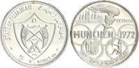 5 Riyals 1970 Silber 1970 Emirat Fujairah ...