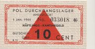 10 Cent Lagergeld 1944 Konzentrationslager...