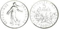 5 Francs Silber 2001 2001 Frankreich Frank...
