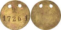 Gefangenenmarke Nr. 17261 ca. 1910 Kolonie...