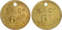 Token Fa. Strachan 1874-1915 Südafrika Süd...