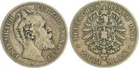 2 Mark 1876 A Deutschland / Kaiserreich / ...