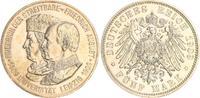 5 Mark 1909 Sachsen 5 Mark Silber 1909 Sac...