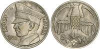 Versilberte Medaille Hitler 5 RM (1935) De...