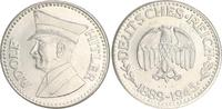 Versilberte Medaille Hitler 1889-1945  Deu...