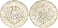 2 Mark 1901 A Lübeck Kaiserreich Lübeck 2 Mark 1901 A fast Stempelglanz  350,00 EUR  +  8,95 EUR shipping