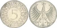 5 DM 1958 J Deutschland 5 DM J.387 Silber Kursmünze  1958 J s-ss, stark... 250,00 EUR  +  7,50 EUR shipping