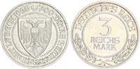3 Reichsmark 1926 A Deutschland / Weimar 3 Reichsmark J.323 Lübeck 1926... 95,00 EUR  +  7,50 EUR shipping