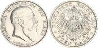 5 Mark 1907 Deutschland / Kaiserreich / Baden Baden 5 Mark J.37 1907 Si... 195,00 EUR  +  7,50 EUR shipping