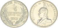 1/4. Rupie 1913 J Kolonien Deutsch-Ostafrika Deutsch-Ostafrika 1/4. Rup... 245,00 EUR  +  7,50 EUR shipping