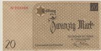 20 Mark Geldschein 1940 Deutschland / Pole...