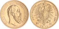 20 Mark Gold 1872 F Württemberg 20 Mark Gold Württemberg 1872F  ss-vz s... 395,00 EUR  +  8,95 EUR shipping