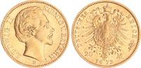 20 Mark Gold 1872 D Bayern 20 Mark Gold Bayern J.197  1872D Ludwig II. ... 360,00 EUR  +  8,95 EUR shipping