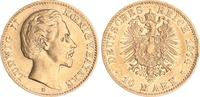 10 Mark Gold 1874 D Bayern 20 Mark Gold Bayern J.196  1874D Ludwig II. ... 245,00 EUR  +  7,50 EUR shipping