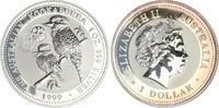 1 Dollar Silber, 1 Unze, 1999 1999 Australien Australien 1 Dollar Silbe... 55,00 EUR  +  7,50 EUR shipping