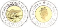 Kanada 2000 Polar Bear Proof $2 Coin 1999 Kanada Kanada 2000 Polar Bear... 20,00 EUR  +  7,50 EUR shipping