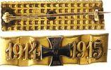 Eisernes Kreuz -Miniatur in patriotischer Brosche 1914 Deutschland / 1.... 30,00 EUR  +  7,50 EUR shipping
