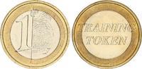 1 Euro Training Token ohne,(2001) Frankreich/Österreich Vorläufer,Test-... 250,00 EUR  +  7,50 EUR shipping