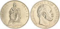 Siegestaler 1871 A Preußen Preußen 1 Siegestaler 1871 A Wilhelm I. vz+  50,00 EUR  +  7,50 EUR shipping