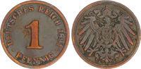 1 Pfennig 1891 J Deutschland / Kaiserreich Kaiserreich 1 Pf. J.10  1891... 20,00 EUR  +  7,50 EUR shipping