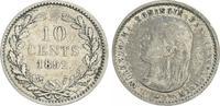 10 Cent 1892 Niederlande Niederlande 10 Cent 1892, Silber Wilhelmina ss  20,00 EUR  +  7,50 EUR shipping
