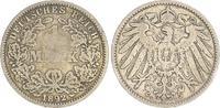 1 Mark 1892 G Deutschland / Kaiserreich 1 Mark 1892 G s/s-ss, s/s-ss  39,00 EUR  +  7,50 EUR shipping