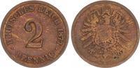 2 Pfennig 1877 B Deutschland / Kaiserreich Kaiserreich 2 Pf. J.2  1877 ... 245,00 EUR  +  7,50 EUR shipping