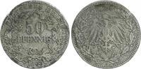 50 Pfennig 1903 A Deutschland / Kaiserreich Kaiserreich 50Pf. J.15  190... 225,00 EUR  +  7,50 EUR shipping