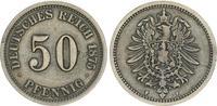 50 Pfennig 1875 F Kaiserreich 50 Pfennig 1875 F  ss ss  65,00 EUR  +  7,50 EUR shipping
