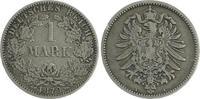 1 Mark 1879 A Deutschland / Kaiserreich 1 Mark kleiner Adler J.9  1879 ... 95,00 EUR  +  7,50 EUR shipping
