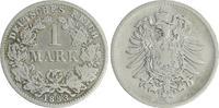 1 Mark 1883 D Deutschland / Kaiserreich 1 Mark kleiner Adler J.9  1883 ... 19,00 EUR  +  6,50 EUR shipping