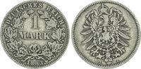 1 Mark 1883 J Deutschland / Kaiserreich 1 Mark kleiner Adler J.9  1883 ... 75,00 EUR  +  7,50 EUR shipping