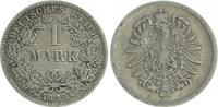 1 Mark 1878 F Deutschland / Kaiserreich 1 Mark kleiner Adler J.9  1878 ... 10,00 EUR  +  6,50 EUR shipping