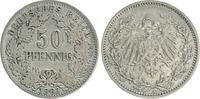 50 Pfennig 1903 A Deutschland / Kaiserreich Kaiserreich 50Pf. J.15  190... 275,00 EUR  +  8,95 EUR shipping