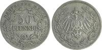 50 Pfennig 1896 A Deutschland / Kaiserreich Kaiserreich 50Pf. J.15  189... 295,00 EUR  +  8,95 EUR shipping