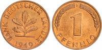 1 Pfennig 1949 F Deutschland 1 Pf.Bank dt.Länder- 1949 F prfr.-st, Prac... 20,00 EUR  +  7,50 EUR shipping