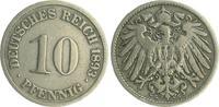 10 Pfennig 1893 G Deutschland / Kaiserreich Kaiserreich 10 Pf. J.13  18... 15,00 EUR  +  6,50 EUR shipping