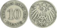 10 Pfennig 1894 E Deutschland / Kaiserreich Kaiserreich 10 Pf. J.13  18... 33,00 EUR  +  7,50 EUR shipping
