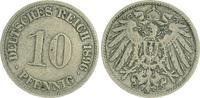 10 Pfennig 1896 G Deutschland / Kaiserreich Kaiserreich 10 Pf. J.13  18... 25,00 EUR  +  7,50 EUR shipping