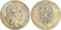 2 Mark 1880 D Bayern 2 Mark Silber Bayern J.42  Ludwig II. 1880 D s-ss  125,00 EUR  +  7,50 EUR shipping