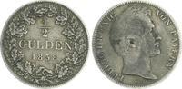 1/2 Gulden 1838 Bayern Bayern 1/2 Gulden 1838 Ludwig I.König von Bayern... 55,00 EUR  +  7,50 EUR shipping