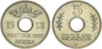 5 Heller 1913 A Kolonien / Ostafrika Deutsch-Ostafrika 5 Heller 1913A  ... 125,00 EUR  +  7,50 EUR shipping