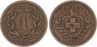 1 Rappen 1851 1870 B Schweiz Schweiz 1 Rappen 1870 B ss-vz, Kratzer im ... 145,00 EUR  +  7,50 EUR shipping