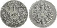 1 Mark 1877 B Deutschland / Kaiserreich 1 Mark kleiner Adler J.9  1877 ... 60,00 EUR  +  7,50 EUR shipping