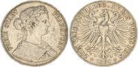 Doppeltaler 1861 1861 Frankfurt Frankfurt Doppeltaler 1861 ss ss, Randf... 125,00 EUR  +  7,50 EUR shipping
