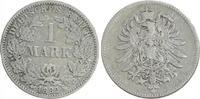 1 Mark 1882 G Deutschland / Kaiserreich 1 Mark kleiner Adler J.9  1882 ... 20,00 EUR  +  7,50 EUR shipping
