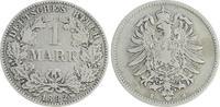 1 Mark 1882 H Deutschland / Kaiserreich 1 Mark kleiner Adler J.9  1882 ... 85,00 EUR  +  7,50 EUR shipping